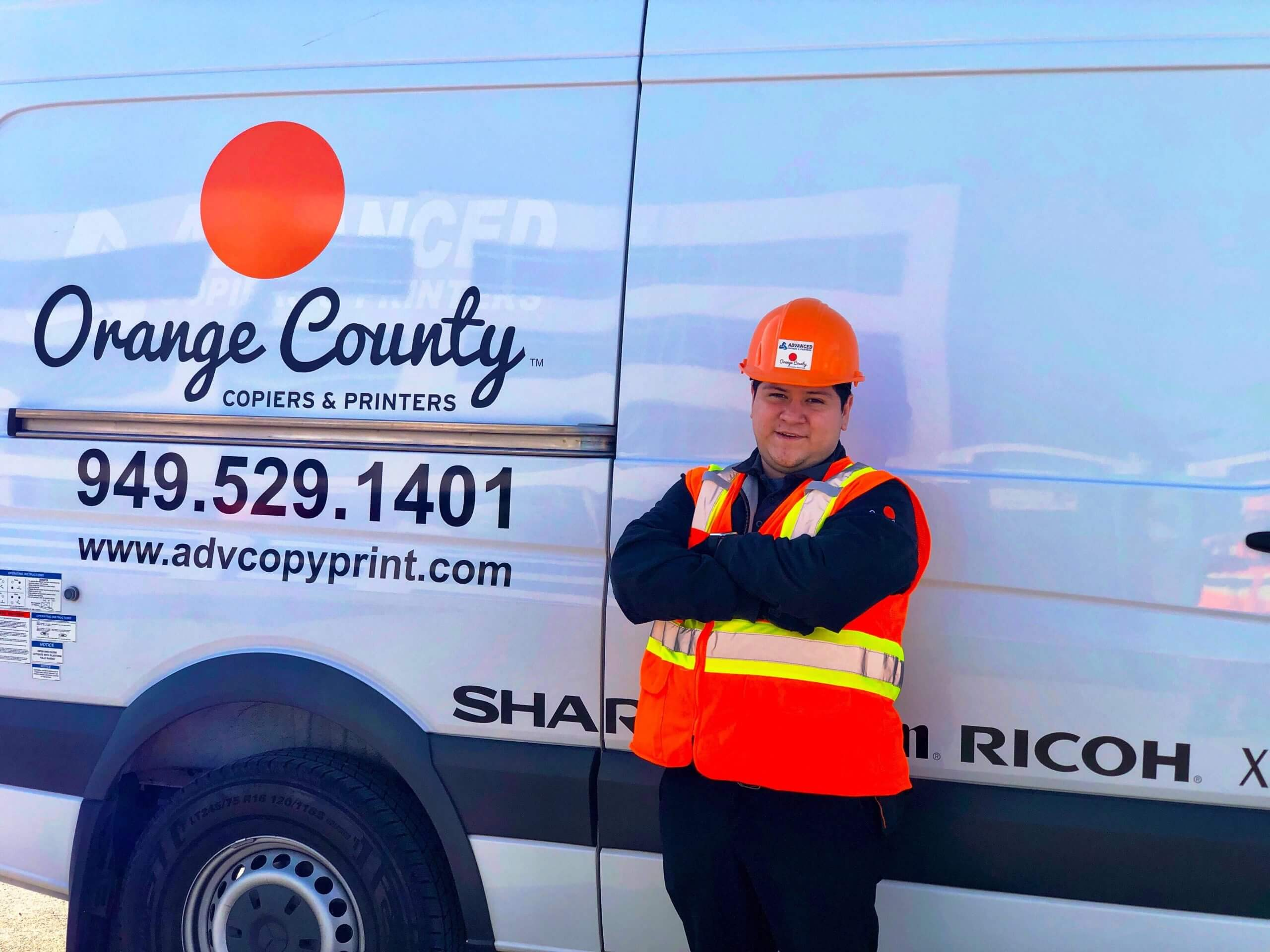 Orange County Copiers & Printers Experienced Repair Technicians