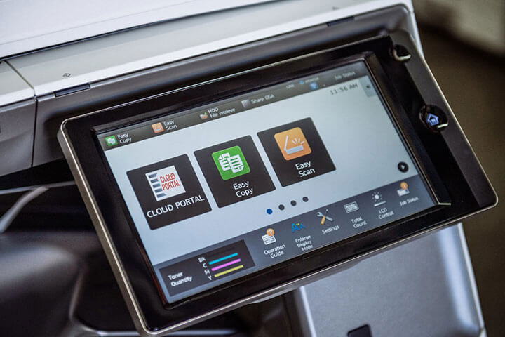 High Quality Sharp Printer With Touchscreen Display